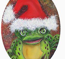 Frog Santa by Mikki Alhart
