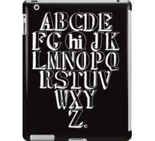 Alphabet Hi - White iPad Case/Skin