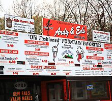 Ardy and Ed's Drive-In by Frank Romeo