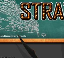 This is STRATA Sticker