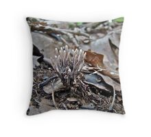 Tiny Clubs - Maybe for Fairies Throw Pillow