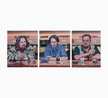 The Big Lebowski Triptych by Tom Roderick