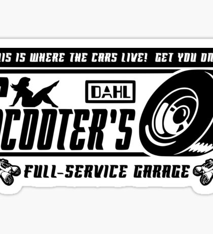 Scooter's Workshop v2 Sticker