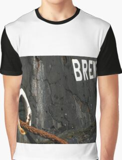 The Thames Barge Brent Graphic T-Shirt