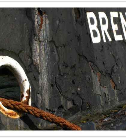 The Thames Barge Brent Sticker