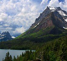 Glacier National Park from Sun Point by Daniel Arthur Brown