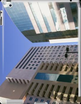 Mirror Building [ iPad / iPod / iPhone Case ] by Mauricio Santana