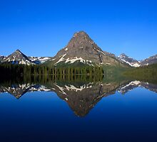 Reflections in Glacier National Park by Daniel Arthur Brown