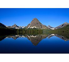 Reflections in Glacier National Park Photographic Print