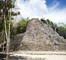 Cancun - Coba Mayan Ruins by mattnnat