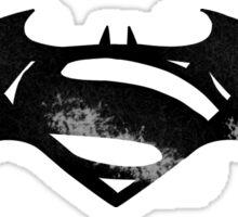 Batman VS Superman (Scratched Edition) Sticker