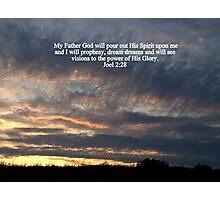 Power of His Glory Photographic Print