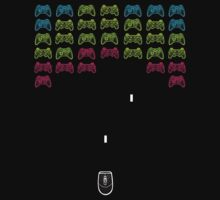 Console invaders by lab80