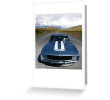 1969 Chevrolet Camaro Yenko Greeting Card