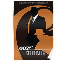 James Bond - Goldfinger  Poster