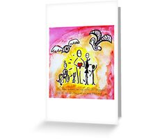 Das Herz Greeting Card