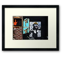 """No Comment"" Framed Print"