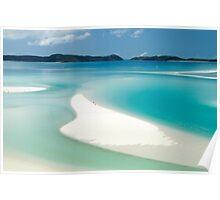 Marooned on Whitsunday Island Poster
