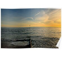 Sunset Over Selsey Poster