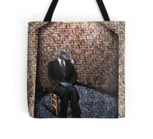 I'm Just sitting alone Tote Bag