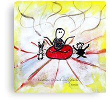 Schweigen Canvas Print