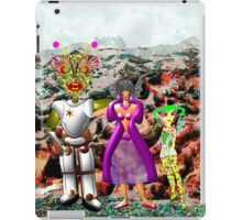 A Mixed Interstellar Family on the Planet of Ykulian Faces Global Warming iPad Case/Skin