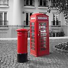 Post Box - Telephone Box by Pete5D