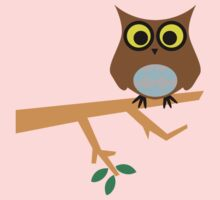 Owl on a Limb Kids Clothes