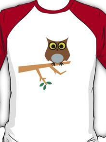 Owl on a Limb T-Shirt