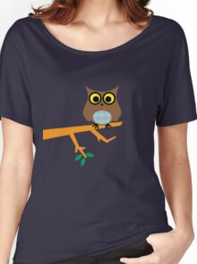 Owl on a Limb Women's Relaxed Fit T-Shirt