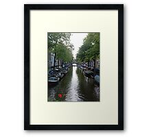Canal of Mystery Framed Print