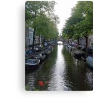 Canal of Mystery Canvas Print