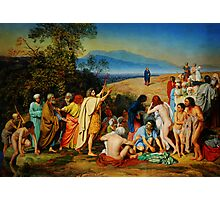 The Apparition of Christ to the People (PR) Photographic Print