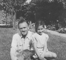 My Daddy and Me, 1948 by heatherfriedman