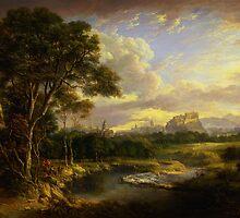 Alexander Nasmyth View of the City of Edinburgh by Adam Asar