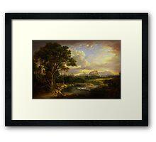 Alexander Nasmyth View of the City of Edinburgh Framed Print