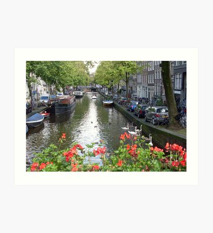 Canal of Love Art Print