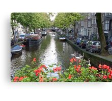 Canal of Love Canvas Print