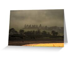 Misty Rosemarkie Two. Greeting Card