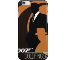 James Bond - Goldfinger  iPhone Case/Skin