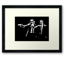 Big Lebowski Pulp Fiction Framed Print