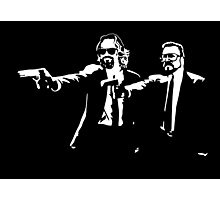 Big Lebowski Pulp Fiction Photographic Print