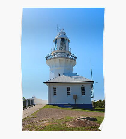 Smokey Cape Lighthouse at South West Rocks NSW Australia Poster