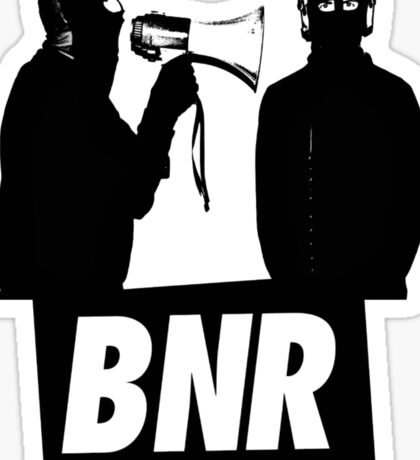 Boys Noize Records - BNR Sticker
