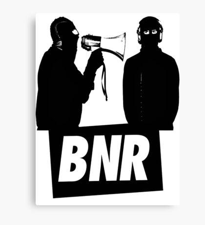 Boys Noize Records - BNR Canvas Print