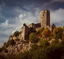 An old abandoned castle by JBlaminsky