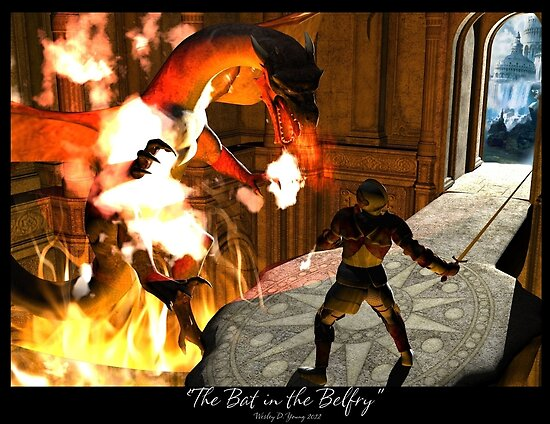 The Bat in the Belfry by Wesley Young