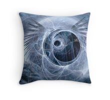 Time Spiraled Lazily Towards Death Throw Pillow