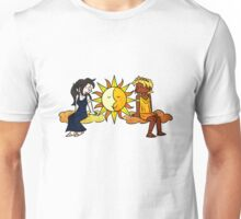 Sun and Moon, Brother and Sister Unisex T-Shirt