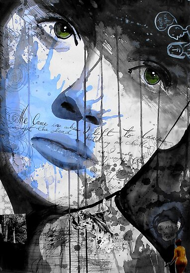 she came in when i left..... by Loui  Jover